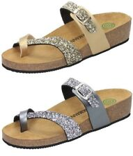 Dr. Brinkmann 701035 Wedge Womens Shoes Glitter Thong Sandal