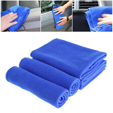 30x30cm Blue Soft Absorbent Wash Cloth Car Auto Care Microfiber Cleaning Towels