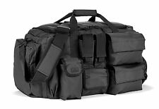 Red Rock Outdoor Gear Operations Duffle Bag, Black