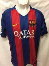 BARCELONA FC SOCCER/FOOTBALL JERSEY - #9 SUAREZ  (back) - SIZE LARGE  - NEW