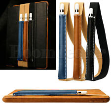 Genuine Leather Case Cover Sleeve Pouch Bag Holder for Apple iPad Pro Pencil