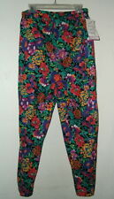 NWT SZ L FLOWER PRINT MATERNITY PANTS pull on pants  TAKE NINE BRAND