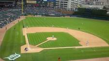 1-8 Cleveland Indians @ Detroit Tigers 2017 Tickets 7/2/17 Sec 324 Row 11