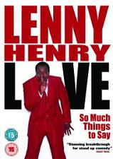 Lenny Henry - So Much Things To Say, Live - Dvd - Comedy - New