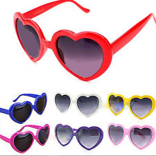 Lolita Heart Shaped SUNGLASSES Fashion Shades Sunnies Retro costume glasses Gift