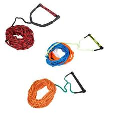 23m Water Ski Wakeboard Kneeboard Tow Rope Line Cord w/ EVA Handle Accessories