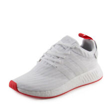 Adidas Mens NMD_R2 PK White/Red BA7253