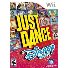NINTENDO Wii JUST DANCE DISNEY PARTY - VIDEO GAME - *BRAND NEW SEALED*