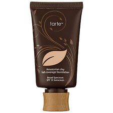 Tarte Amazonian Clay 12-Hour Full Coverage Foundation SPF 15 choose your shade