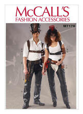McCalls Chaps & Holsters,Top Hat Costume Pattern All sizes M7176