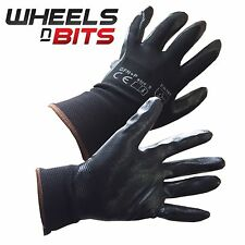 NEW 12, 24, 36 PAIRS FOAM NITRILE COATED WORK GLOVES Fitters Mechanic Handyman