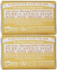 KEHE-18787787052-Dr. Bronners Organic Castile Bar Soap - (Citrus Orange, 5 oz)