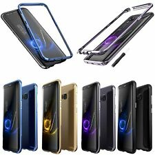 Bumper Case Aluminum Shockproof Frame Cover Skin For Samsung Galaxy S8 & S8 Plus