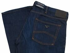 Armani AJ Mens Jeans J45 Regular Fit Blue Wash Denim Zip Fly 34 leg V6J45 2S