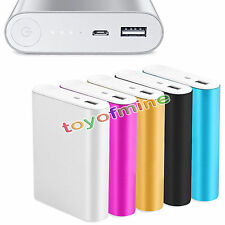 5V 2.1A USB Power Bank Case Set 4X18650 Battery Charger DIY Box For Cell phones