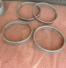 4 BUICK OLDSMOBILE HEADLIGHT TRIM RINGS 2 TAB RETAINER FIT'S OTHER GM