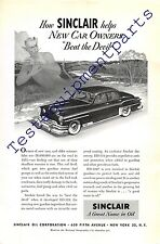 Print ad 1951 Sinclair, a great name in oil   Sinclair oil corporation