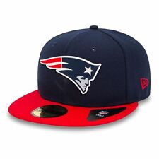80468980-NVY-RED_New Era Cap – 59Fifty Nfl New England Patriots Team Rubber Logo