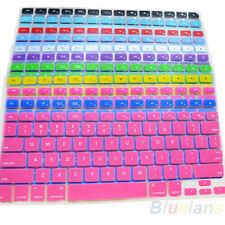 1pc Silicone Keyboard Skin Cover Case For Macbook Pro MAC 13 15 17 Air 13 Case