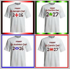 Saint Day Fun T-shirts with or without a Year - Ladies & Unisex NEW