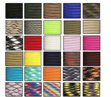 550 Paracord Parachute Cord Lanyard Mil Spec Type III 7 Strand Core100FT ##  SG