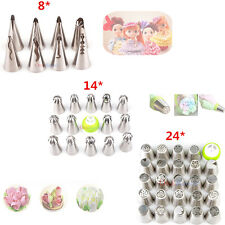 Icing Piping Nozzles Pastry Tips Baking Tool Russian Flower Ball Cake Decorating