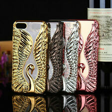 3D Relief Swan Love Plating Silicone Soft TPU Back Cover For Iphone 6 6s 7 Plus