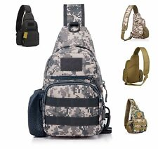 Tactical Backpack Single Shoulder Portable Sling Pack Crossbody Chest Sling Bag