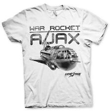 Officially Licensed Flash Gordon- War Rocket Ajax Men's T-Shirt S-XXL Sizes