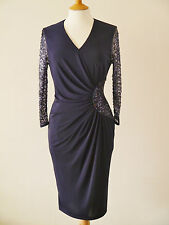DRESS CODE BY VEROMIA DC095 NAVY MOTHER OF BRIDE EVENING DRESS RRP £325 SAVE £££