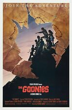 THE GOONIES Movie Silk Fabric POSTER Classic 80's Star Wars Marvel Comics