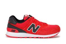 New Balance Mens Sneakers Classic 574 Reflective Red Black ML574CND