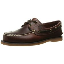 Timberland Men Casual Shoes Classic Two-eye Boat Shoe Root Beer