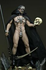 Phicen Steel Skeleton Male Death 1/6 Scale Clothes With Sickle Set For Body