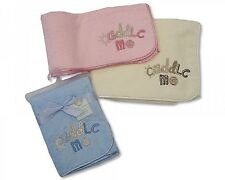 Baby Soft Pram Blanket With Embroidery 75 x 100 cm
