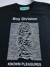 JOY DIVISION UNKNOWN PLEASURES / BOY DIVISION KNOWN PLEASURES SHIRT PUNK/LGBT