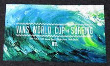 This Winters 2015/16 Vans World Cup of Surfing Sunset Beach Gray Tee Shirt NWT