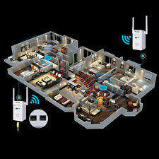 Concurrent WiFi Range Extender AC750M Dual Band Wireless AP/Repeater/Router BE
