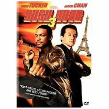 """Rush Hour 3"" (DVD 2007 Widescreen) Comedy/Action Jackie Chan - New"