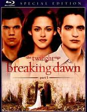 """The Twilight Saga"" Breaking Dawn Part 1 (Blu-ray Special Edition 2012) - Used"