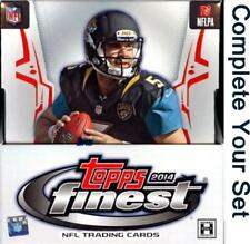 2014 Topps Finest Football Singles - Complete Your Set - We combine shipping