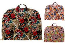 Floral Paisley Cotton Quilted Lightweight Garment Luggage Overnight Travel Bag
