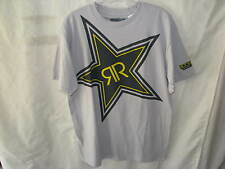 NEW ROCKSTAR ENERGY DRINK X-RAY MENS GREY Tee Shirt MD 050070