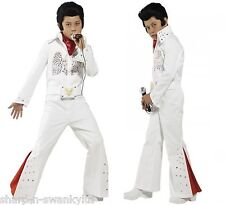 Boys 1950s Elvis Presley Celebrity Star Book Day Fancy Dress Costume Outfit