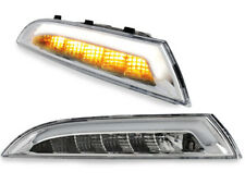 carDNA LED Front indicators with Position Lights VW Scirocco III Chrome 4983746E