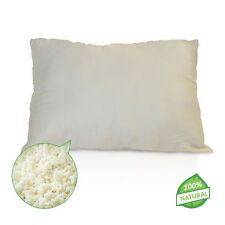 NEW- Shredded Natural Latex Pillow-ALL SIZES