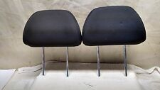 2006-2009 KIA SPECTRA 5 OEM REAR HEADREST LEFT AND RIGHT HATCHBACK GRAY PAIR
