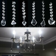 1/5/10 Strands Acrylic Crystal Bead Garland Decor Hanging Wedding Decoration A9D