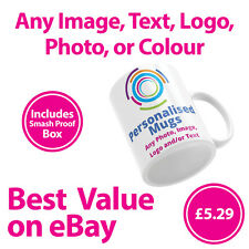 Personalised Mugs / Cup - Custom Gift - Your Image Photo & Text & Design Printed