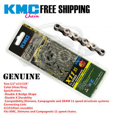 KMC MTB Road bicycle chain X11 X11SL 11 speed for Shinano Campagnolo and SRAM